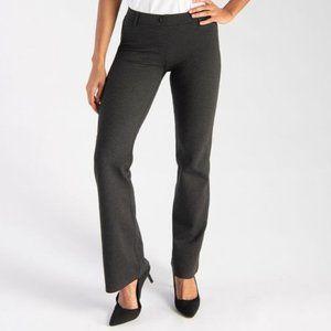 Betabrand NWT Classic Dress Yoga Pants Grey L Long